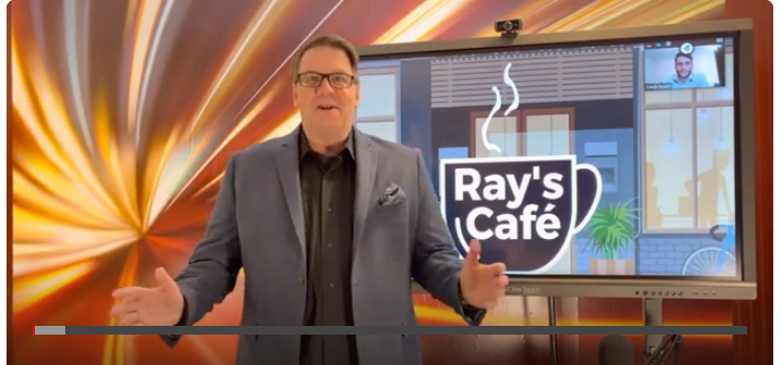 The End Of The Day With Ray! Announcing members venue, Ray's Cafe! Premier Episode is on my website