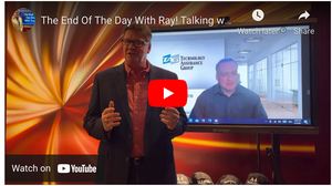 The End Of The Day With Ray! Talking with TAG President Brian Suerth, meet someone who Gets IT