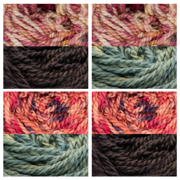 Colour swatch ideas for Alaska hat
