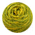 Naturally dyed pure merino in Blazingo - yellow green colourway