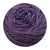 Naturally dyed pure merino in DixieBack - deep purple colourway