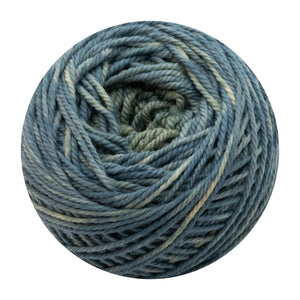 Naturally dyed pure merino in Florest - sage green colourway