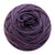Naturally dyed pure merino in PixieBerry dark purple colourway