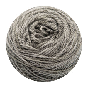 Naturally dyed pure merino in Smoxy - light grey colourway