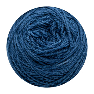 Naturally dyed pure merino in Stargazer - Indigo blue colourway