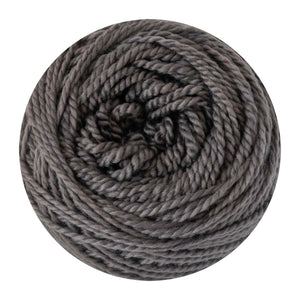 Naturally dyed pure merino in Tornado - medium grey colourway
