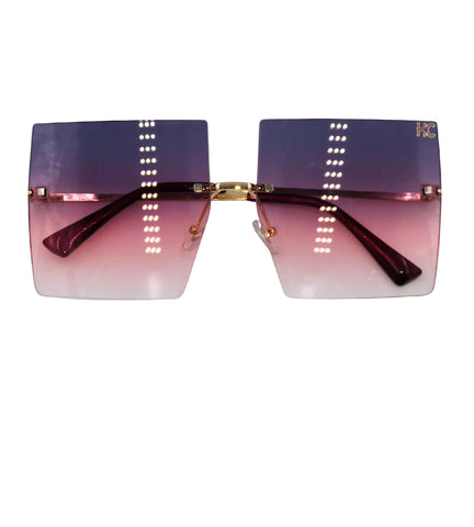 Rosalia - purple fade sunglasses