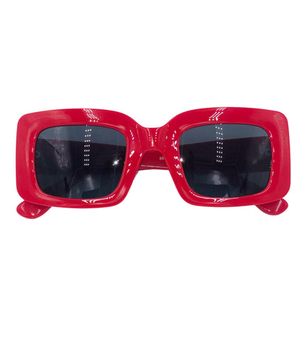 Courtney - red 90s sunglasses