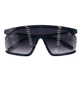 Pris - all black fade glasses