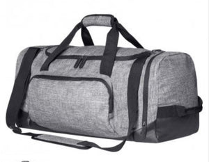 Alex Hart KAIZEN Martial Arts Squad Large Grey Duffel
