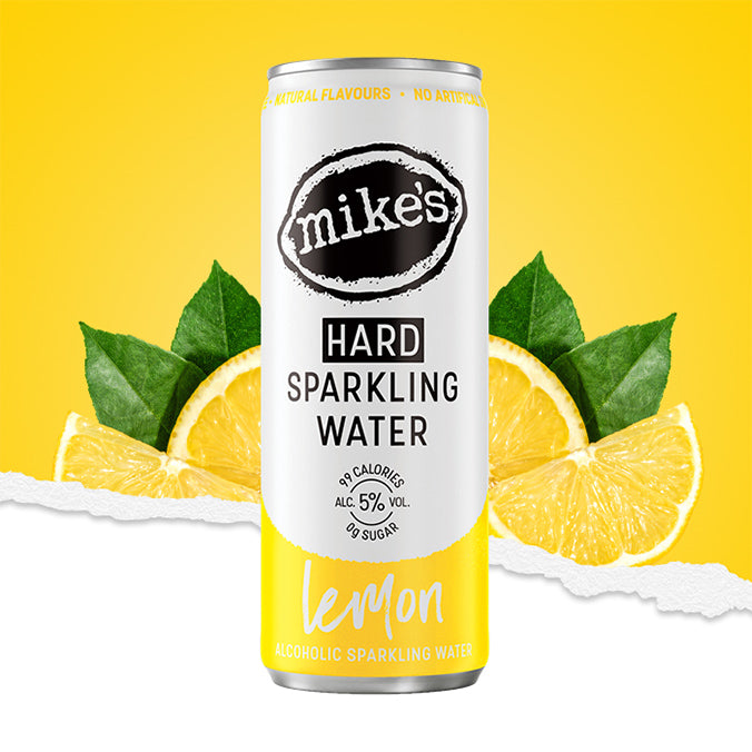 LEMON MIKE'S HARD SPARKLING WATER