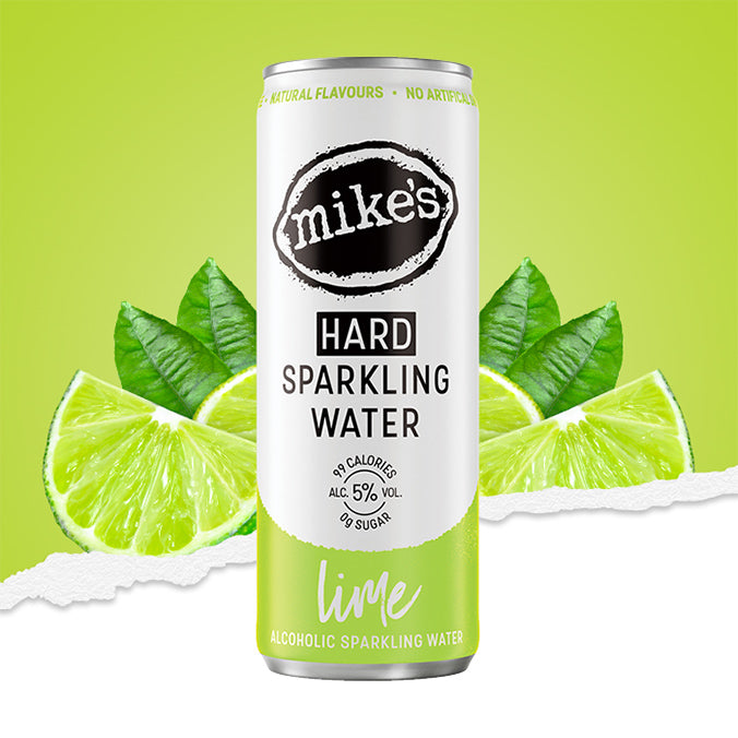LIME MIKE'S HARD SPARKLING WATER