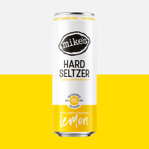 Lemon Hard Seltzer Can - Mike's Hard Seltzer