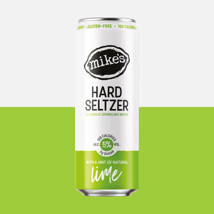 Mike's Hard Lime Seltzer Can