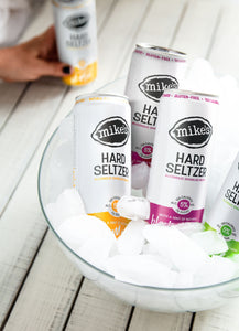 4 Cans of Mike's Hard Seltzer in Ice Bowl