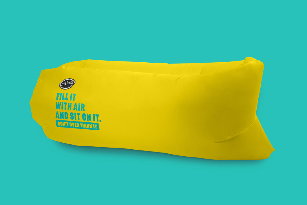 Yellow Air Bag by Mike's Hard Seltzer