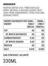 Load image into Gallery viewer, Mike's Hard Seltzer Raspberry Nutrition Facts