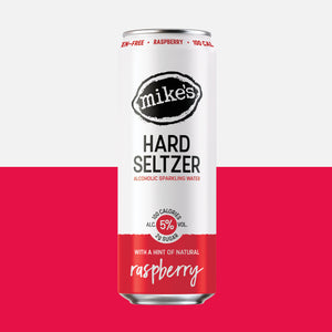 Raspberry Hard Seltzer Can - Mike's Hard Seltzer