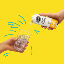 Load image into Gallery viewer, Lemon Hard Seltzer Can Poured Into Glass - Mike's Hard Seltzer