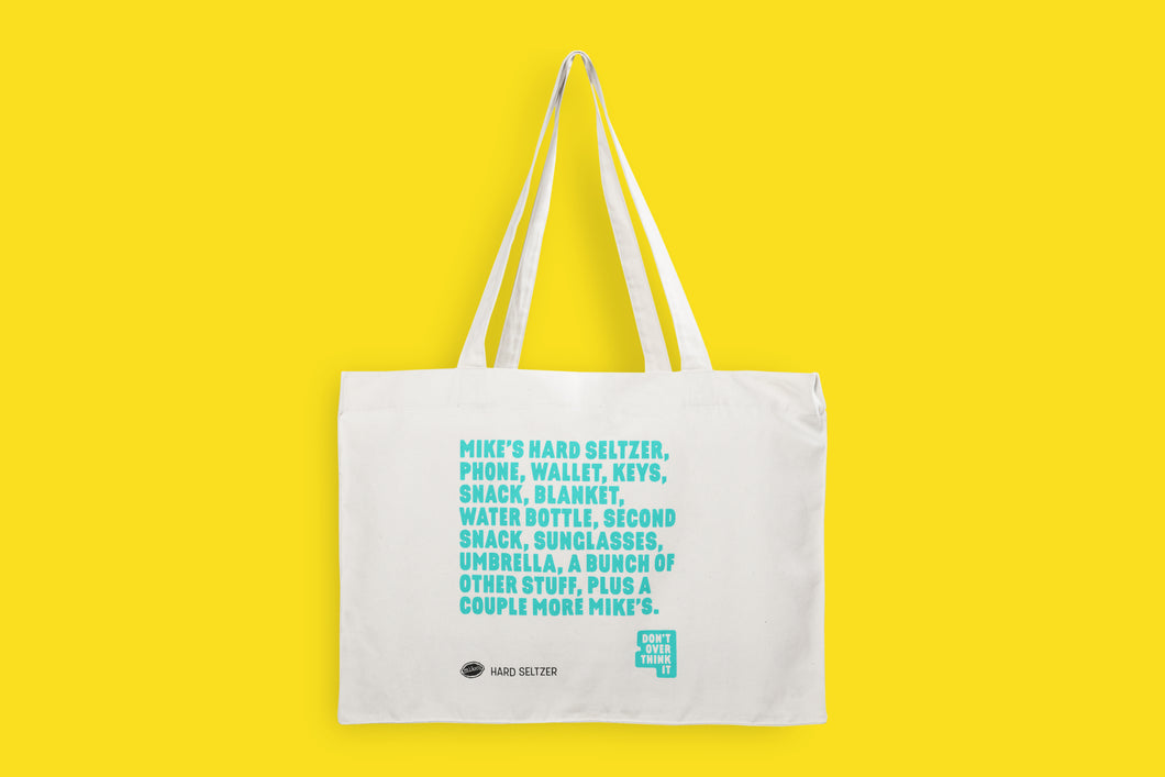 Cotton Tote Bag by Mike's Hard Seltzer