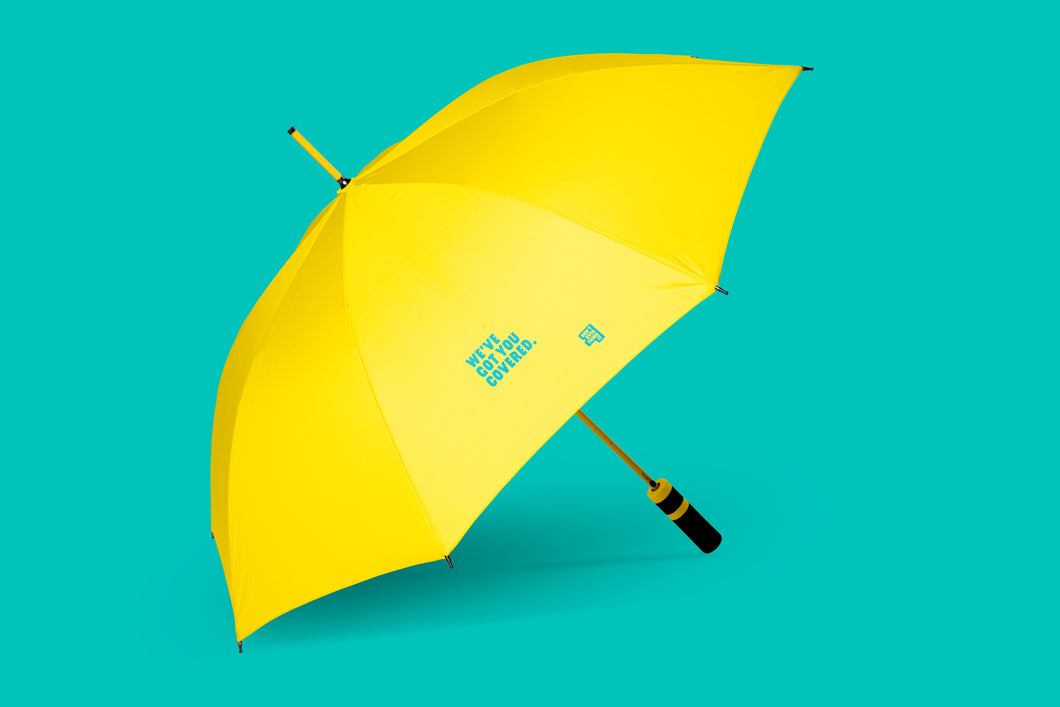 Yellow Umbrella by Mike's Hard Seltzer