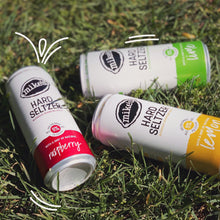 Load image into Gallery viewer, 3 Cans of Mike's Hard Seltzer: Raspberry, Lime and Lemon