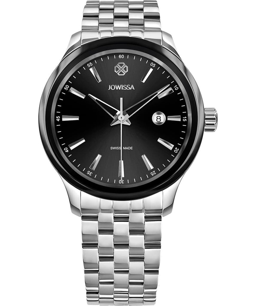 Silver/Black Tiro Swiss Men's Watch