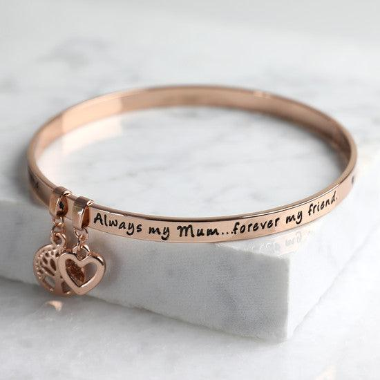 Mum Rose Gold Bracelet - The Charming Jewellery Store