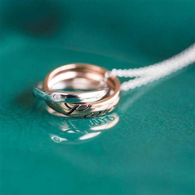 Love Rings Necklace