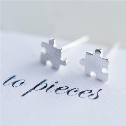 Silver Love You To Pieces Earrings
