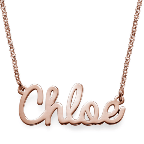 Personalised Cursive Name Necklace