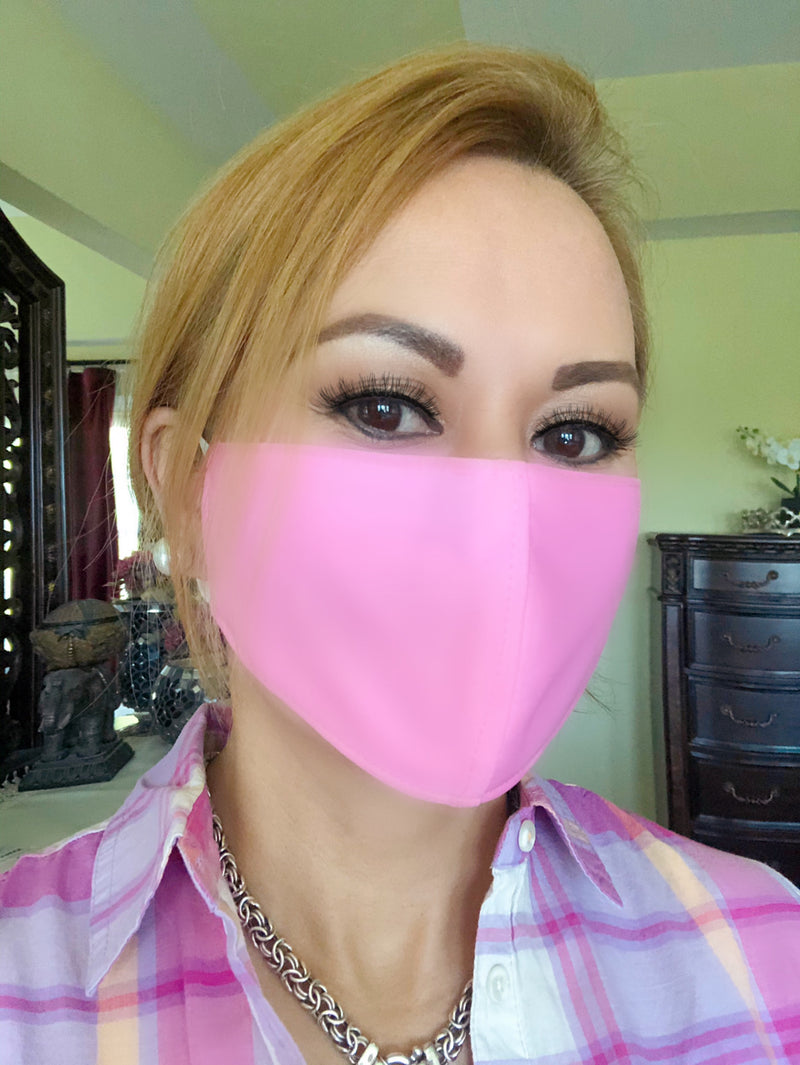 Pink Adult Face Mask - Free Shipping - FacemasksNJ.com