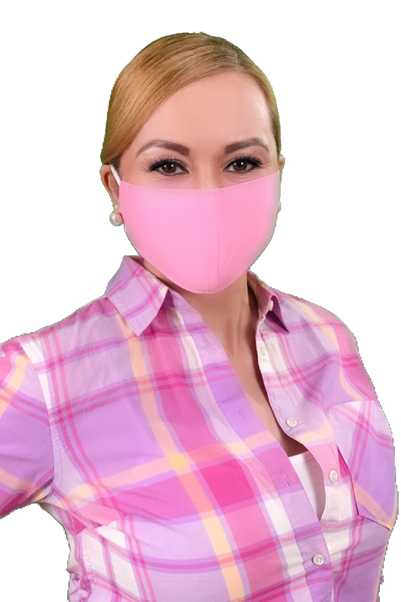 Pink Adult Face Mask - Free Shipping