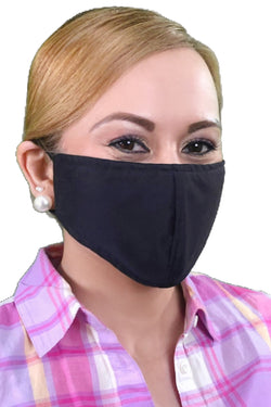 Black - Adult Face Mask - Free Shipping