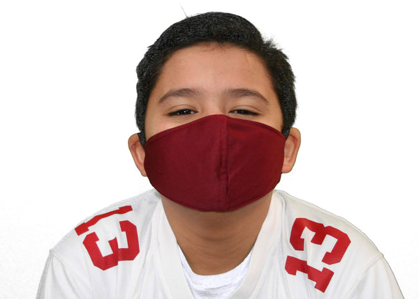 3 Ply Kids Face Masks with Adjustable Band