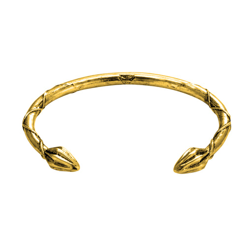 Handcrafted Classic Gold Plated Cuff