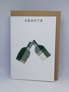 Hand stitched assorted cards