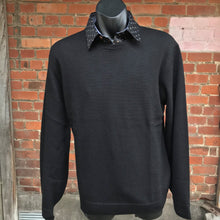 Load image into Gallery viewer, 4958 Black Crew Neck Jersey