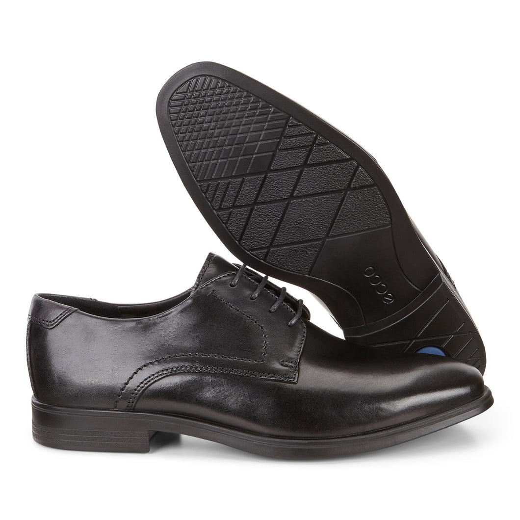 ECCO Melbourne Leather Lace Up Dress Shoe