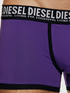 Diesel Damien Trunk Boxers - 3 Pack - Black/Purple/Green