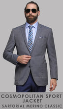 Load image into Gallery viewer, Asher JW3 - Blue Sports Jacket