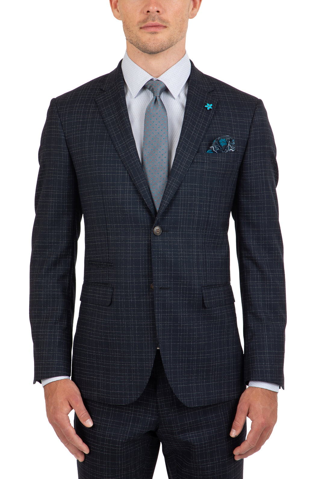 Gibson FGK642 Beta/Caper Suit - Navy Check