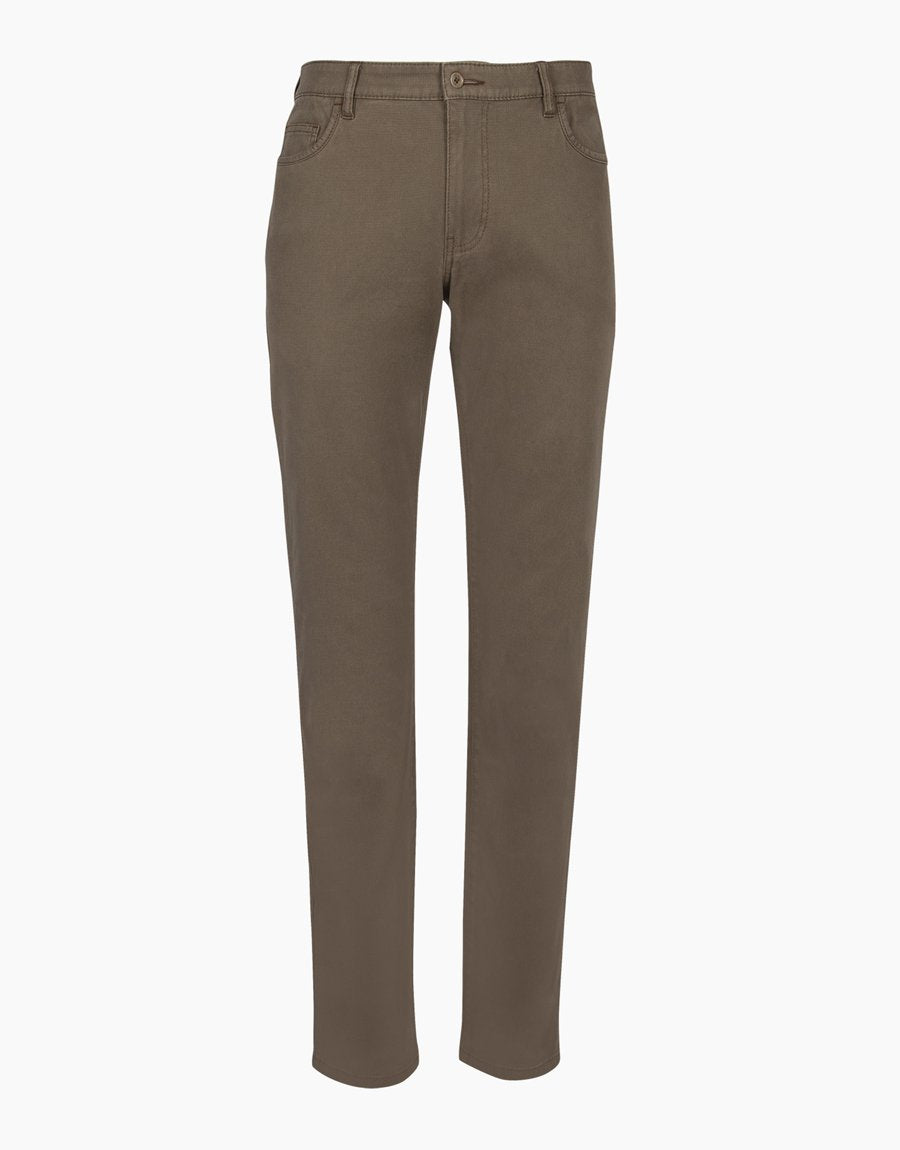 Rembrandt Camden 5 Pocket Trousers - Taupe