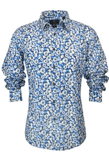 Cutler & Co Nigel L/S Shirt - Cornflower 625