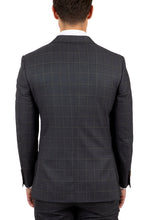 Load image into Gallery viewer, Cambridge FCJ340 Suit - Charcoal Window Pane Check