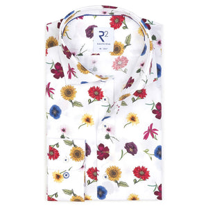 R2 Amsterdam: Red Daisy Shirt