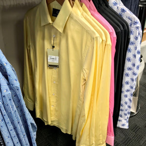 Cutler & Co Blake L/S Shirt - Lemon / Candy