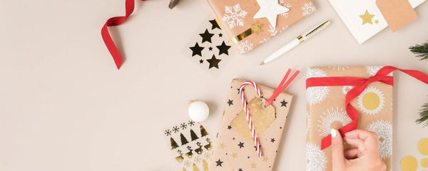 OUR TIPS FOR SUCCESSFUL GIFT WRAPPING
