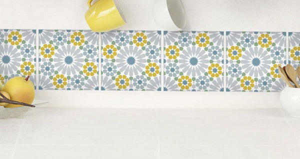 TILE STICKERS: A NEW DECORATION WITHOUT BIG WORKS!