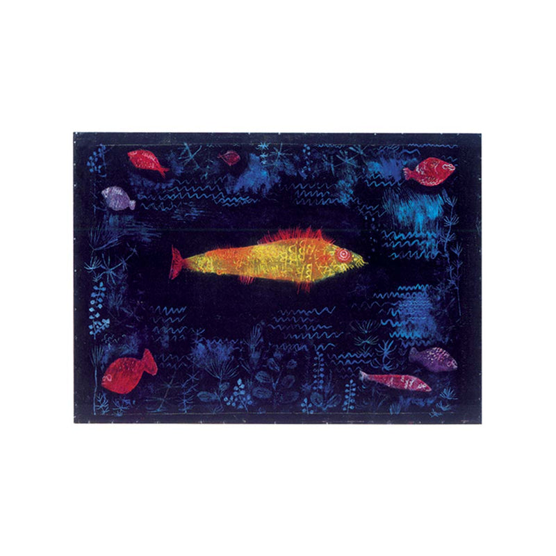 Le poisson rouge / The Goldfish, Paul KLEE